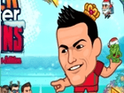 Play Super Soccer Noggins Xmas